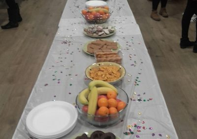 Refreshments at the Cuisle Centre